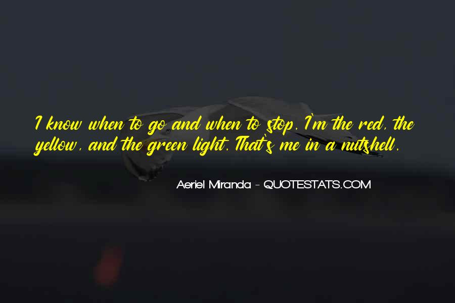 Red Light Stop Quotes #1060059