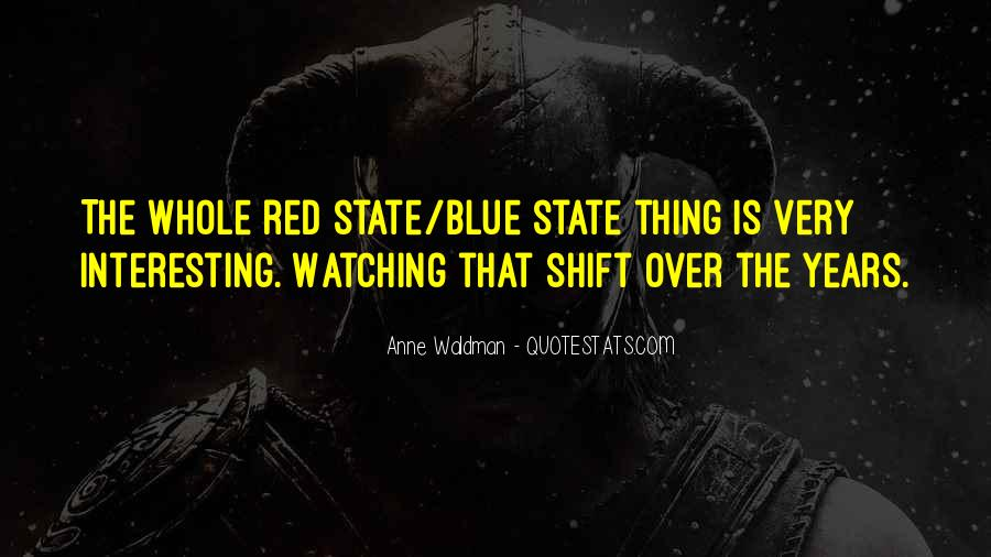 Red Vs Blue Quotes #113482