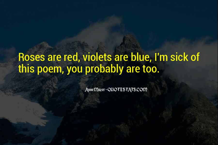 Red Vs Blue Quotes #42204