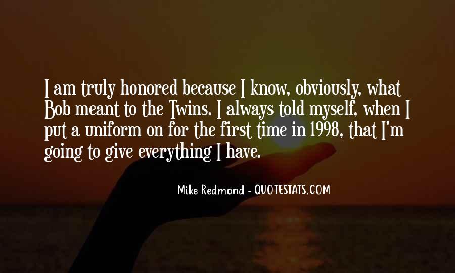 Redmond Quotes #1718656