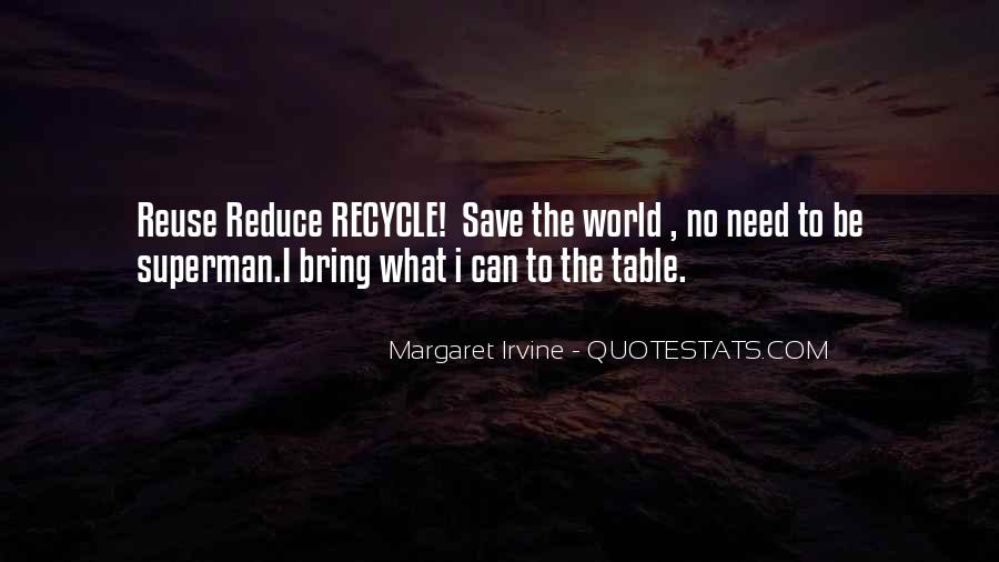 Reduce Recycle Quotes #763252