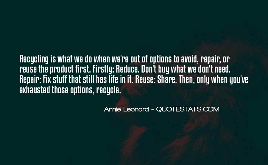 Reduce Recycle Quotes #940074