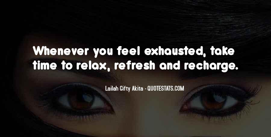 Refresh Life Quotes #1465055