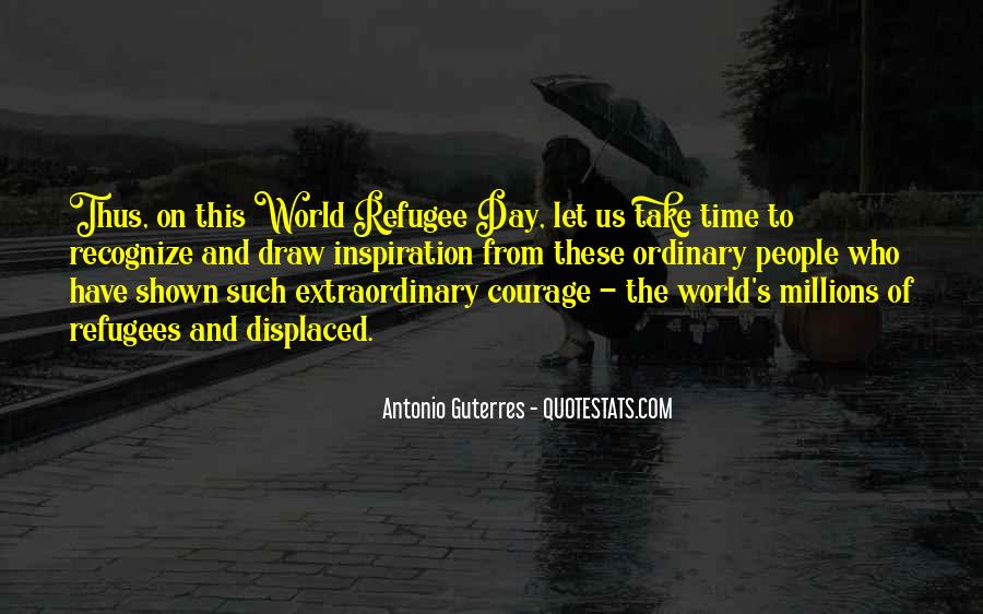 Refugee Quotes #1023593