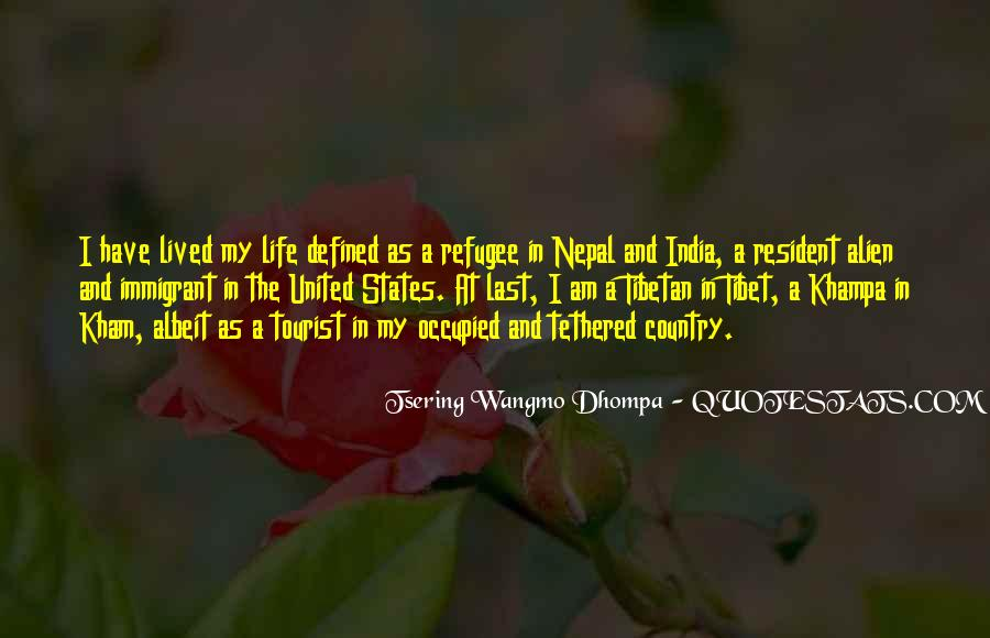 Refugee Quotes #1066845