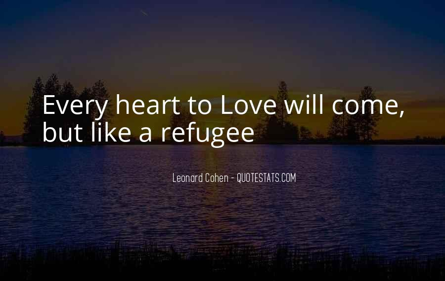 Refugee Quotes #1141786