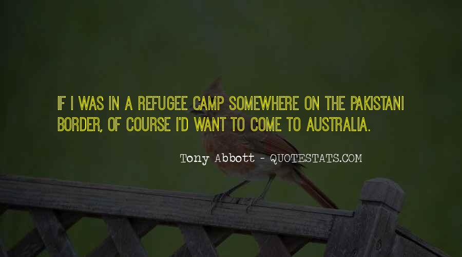 Refugee Quotes #1233207