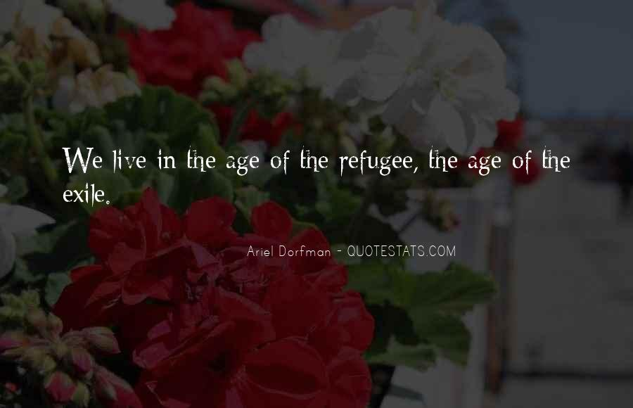 Refugee Quotes #130372