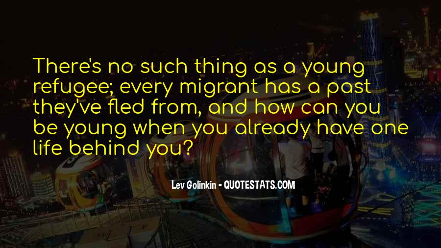 Refugee Quotes #191709