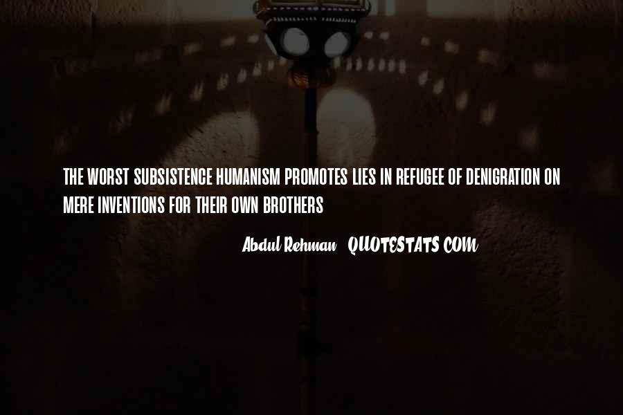 Refugee Quotes #622046