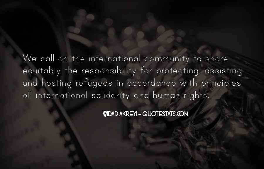 Refugee Quotes #630368