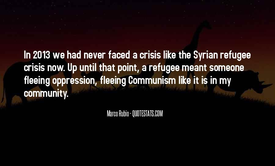 Refugee Quotes #681946