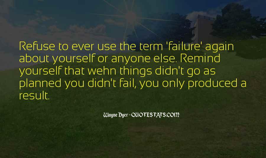 Refuse Failure Quotes #404581