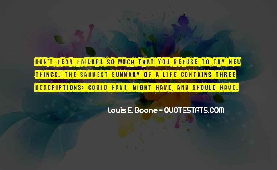 Refuse Failure Quotes #442617