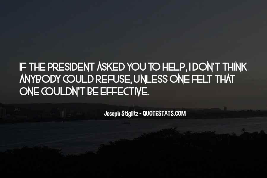 Refuse Help Quotes #368544