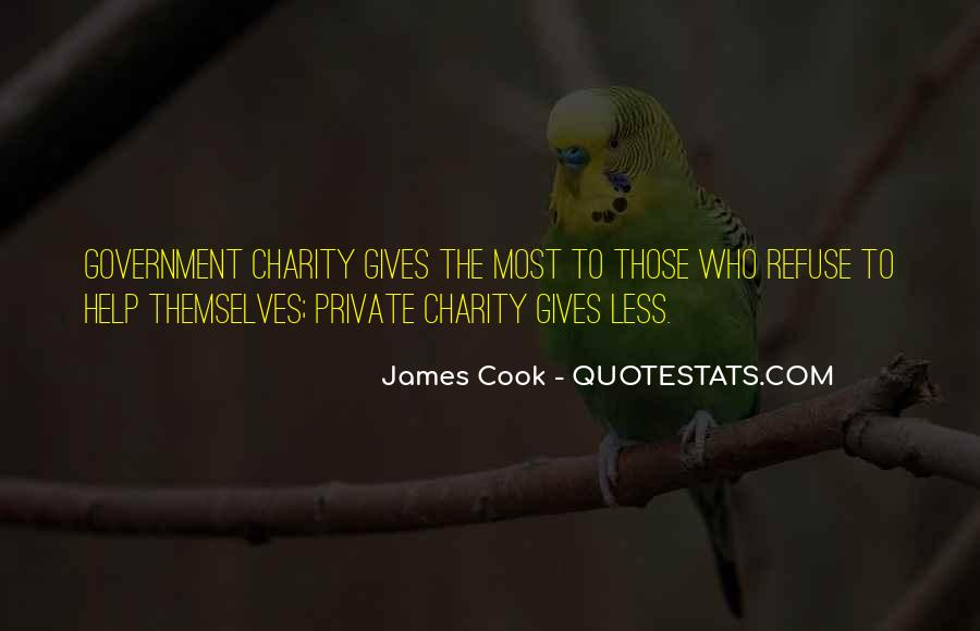 Refuse Help Quotes #942449