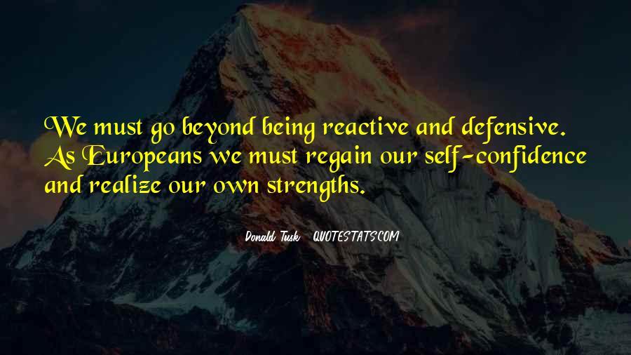 Regain Confidence Quotes #1651019