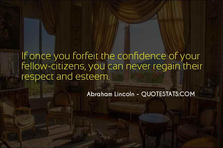 Regain Confidence Quotes #311547