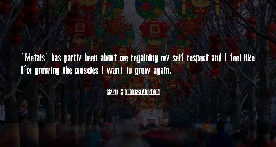 Regaining Respect Quotes #674915