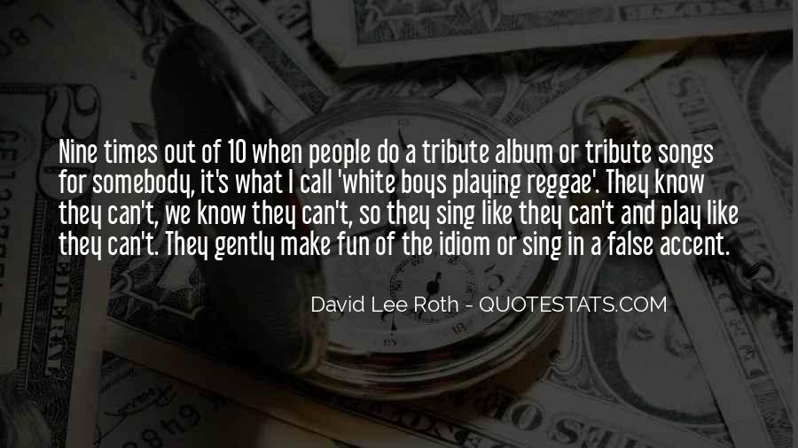 Top 15 Reggae Song Quotes: Famous Quotes & Sayings About