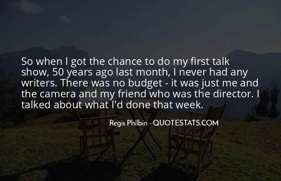 Regis Quotes #615585