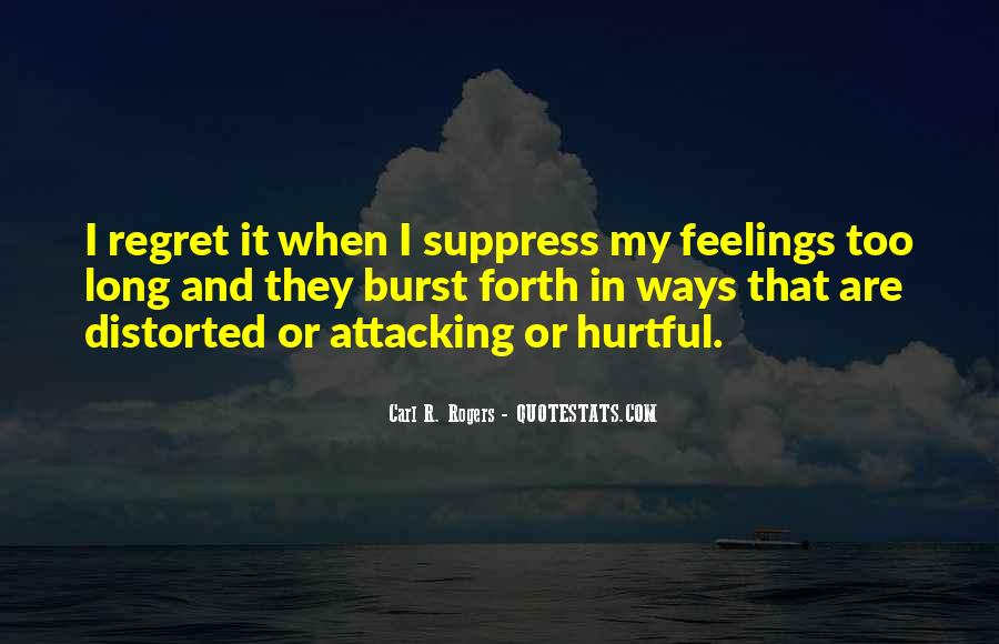 Regret When I'm Gone Quotes #14896