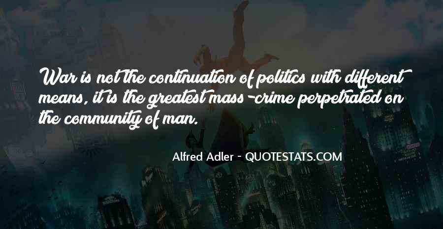Quotes About Alfred Adler #1074595
