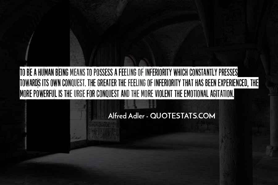 Quotes About Alfred Adler #1532757