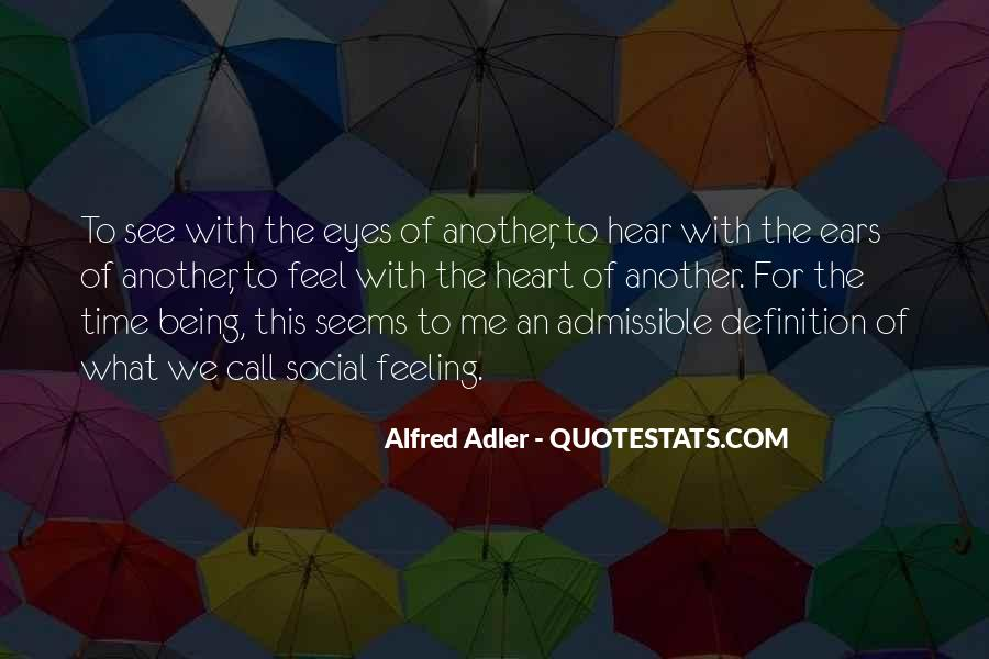 Quotes About Alfred Adler #1806211
