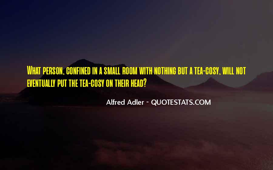 Quotes About Alfred Adler #201718