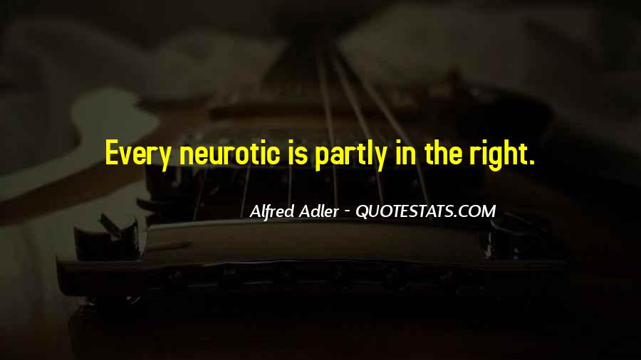 Quotes About Alfred Adler #20702