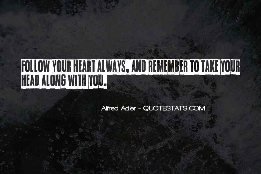 Quotes About Alfred Adler #214785
