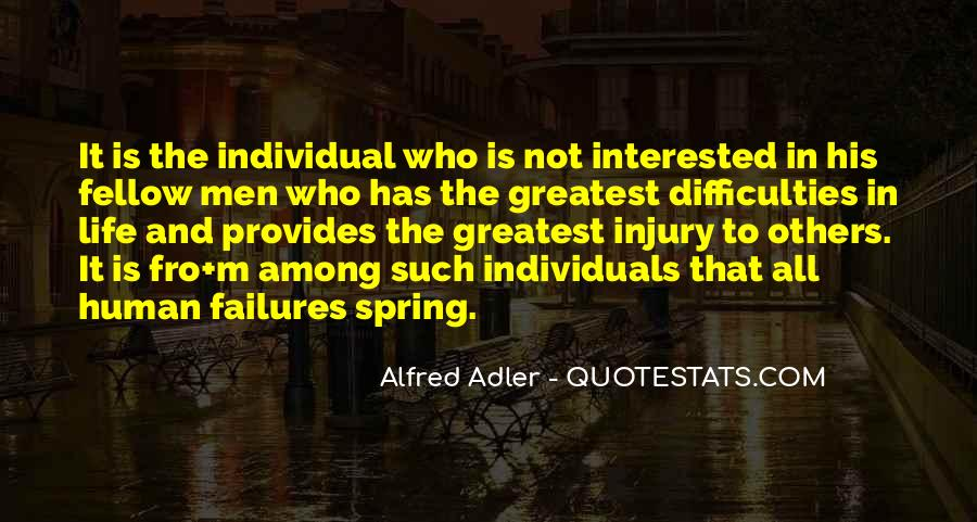 Quotes About Alfred Adler #623916