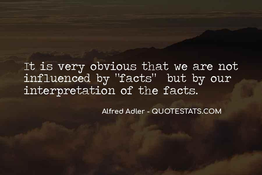 Quotes About Alfred Adler #764951