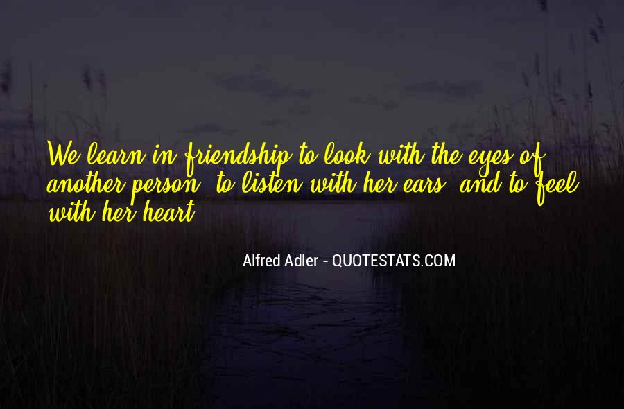 Quotes About Alfred Adler #839620