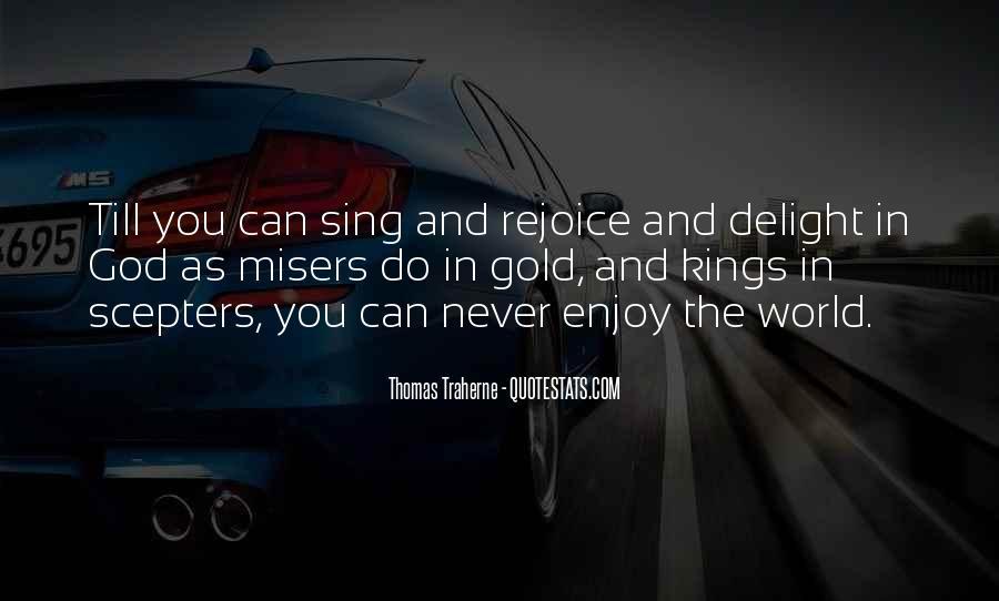 Rejoice God Quotes #1133034