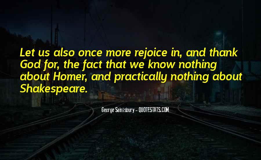 Rejoice God Quotes #1588601
