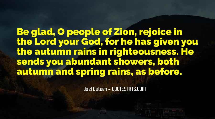 Rejoice God Quotes #1617543
