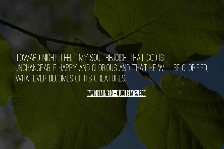 Rejoice God Quotes #1674080