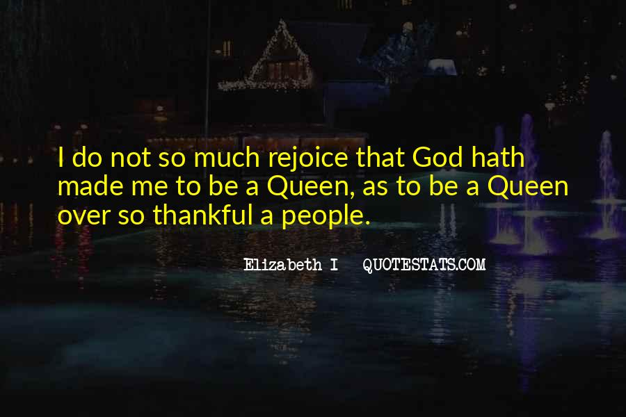 Rejoice God Quotes #1719125