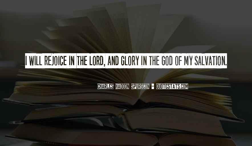 Rejoice God Quotes #1764466