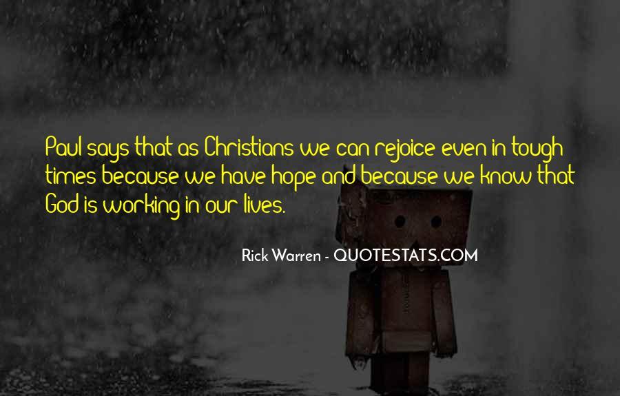 Rejoice God Quotes #281481