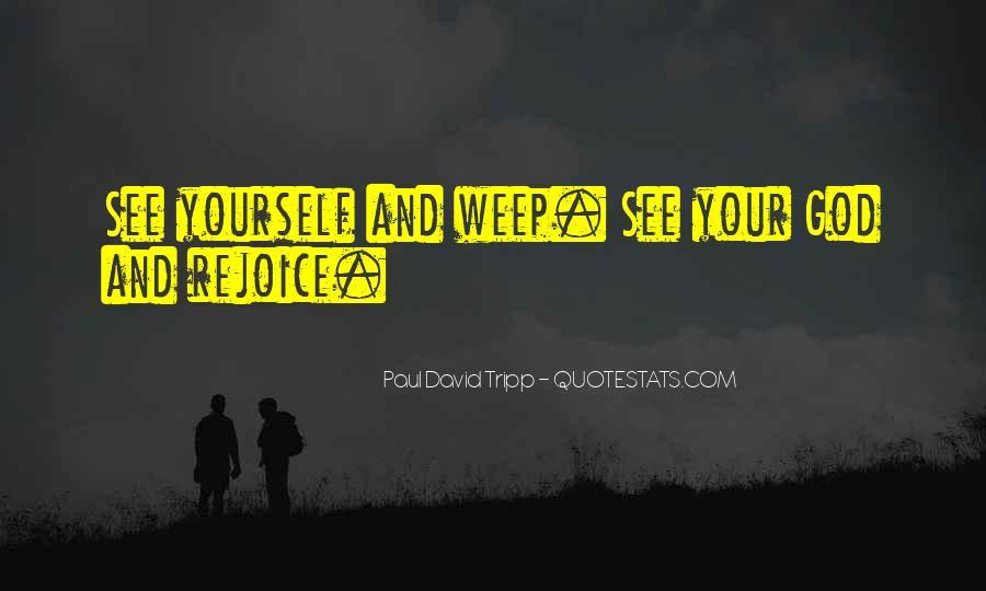 Rejoice God Quotes #3241
