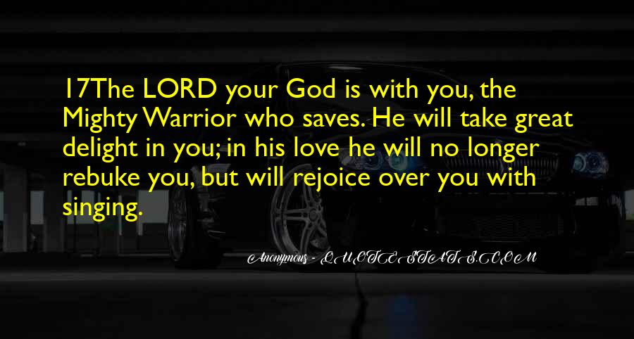 Rejoice God Quotes #335995