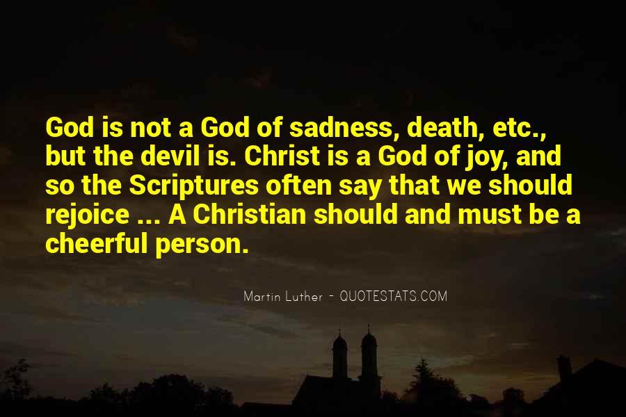 Rejoice God Quotes #353207