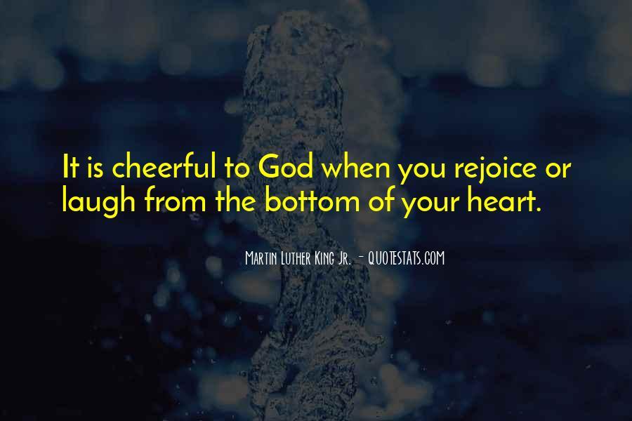 Rejoice God Quotes #473127