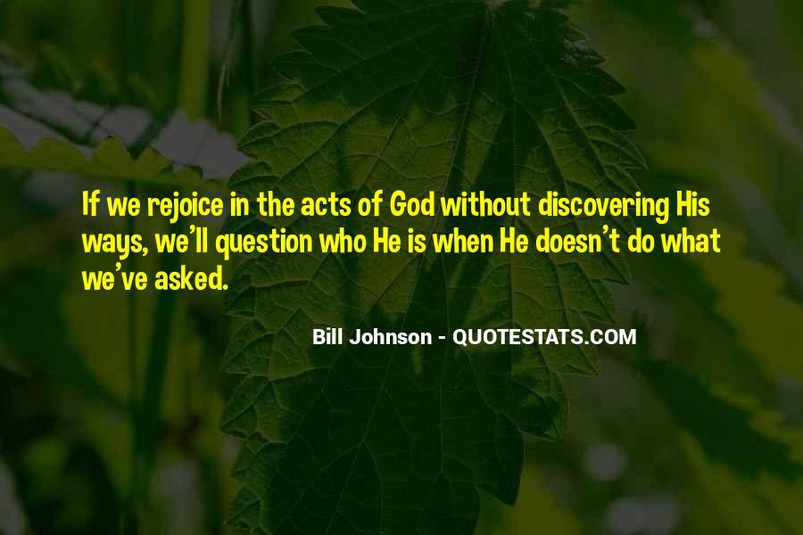 Rejoice God Quotes #483425