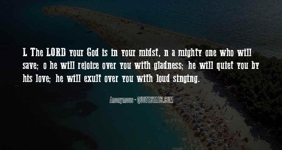 Rejoice God Quotes #526654