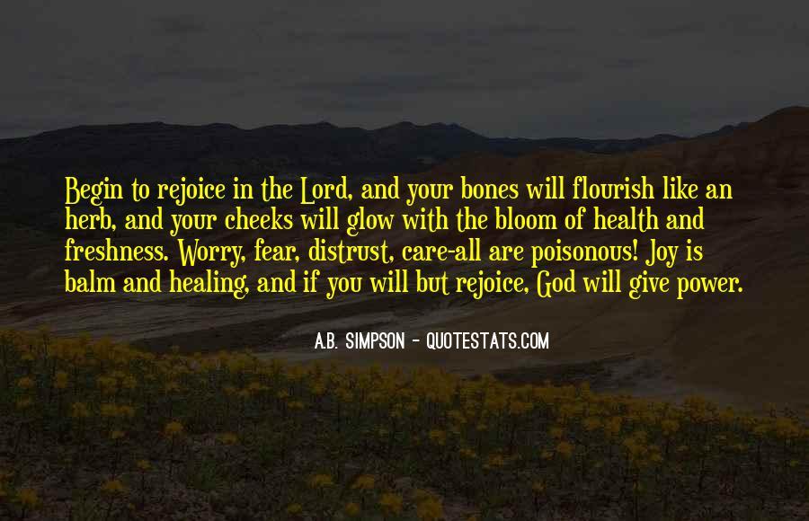 Rejoice God Quotes #839451