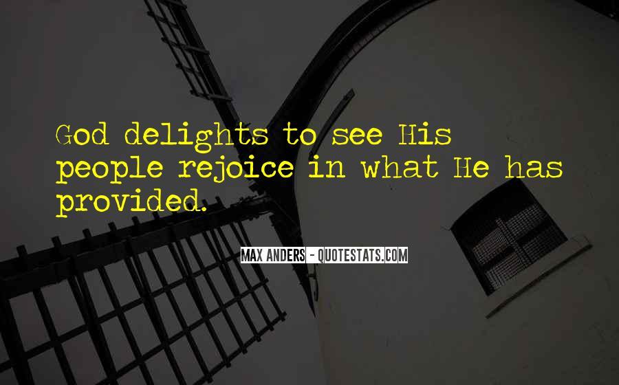 Rejoice God Quotes #930719